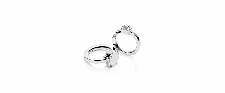 Unsere 750 Weißgold Verlobungsringe mit Brillanten für Verlobung und Hochzeit