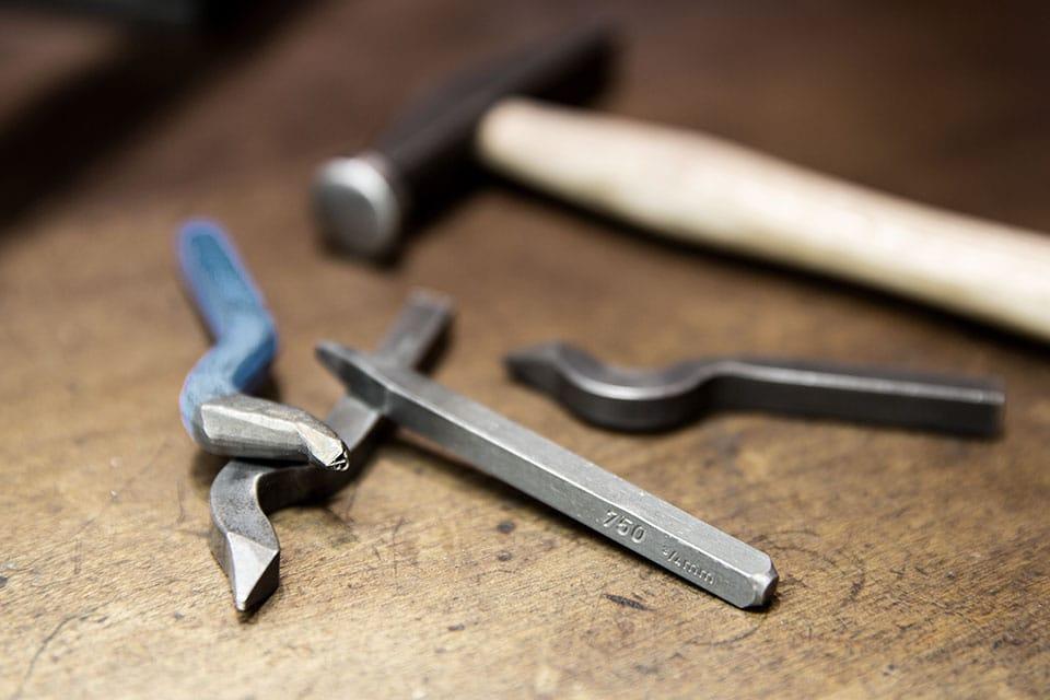 Hochwertige Werkzeuge für die Goldschmiede