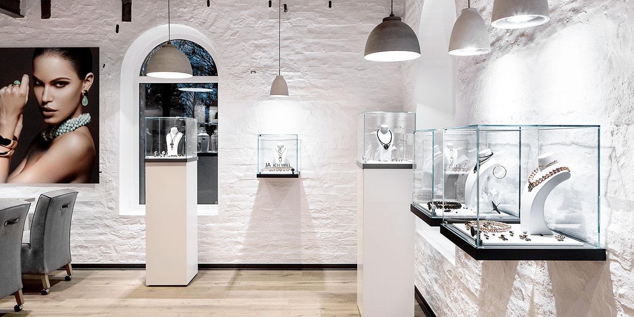 Showroom der Brauksiepe Goldschmiedemanufaktur