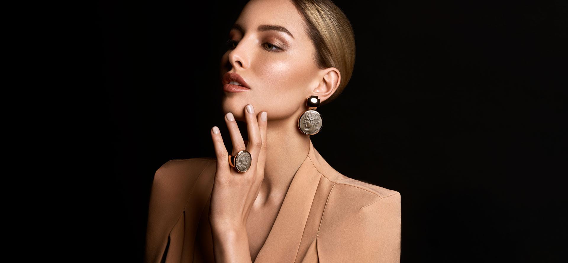 Ohrringe aus der Brauksiepe Goldschmiedemanufaktur