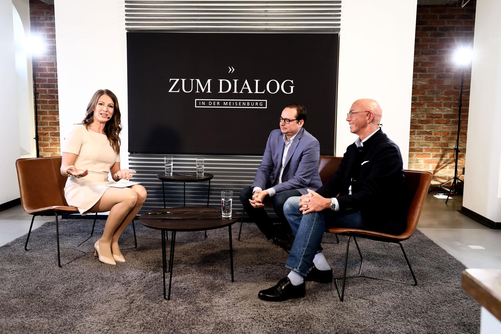 Dialogrunde Politik mit Thomas Kufen und Ulrich Scholten