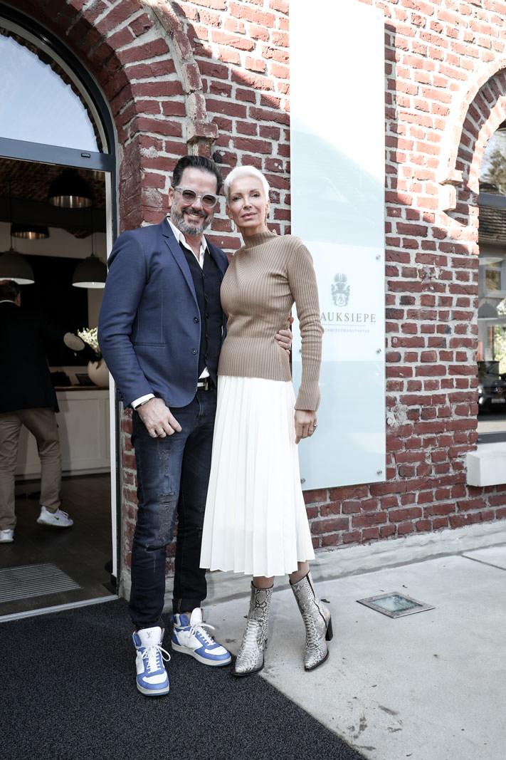 Unternehmerehepaar Britt und Alex Jolig