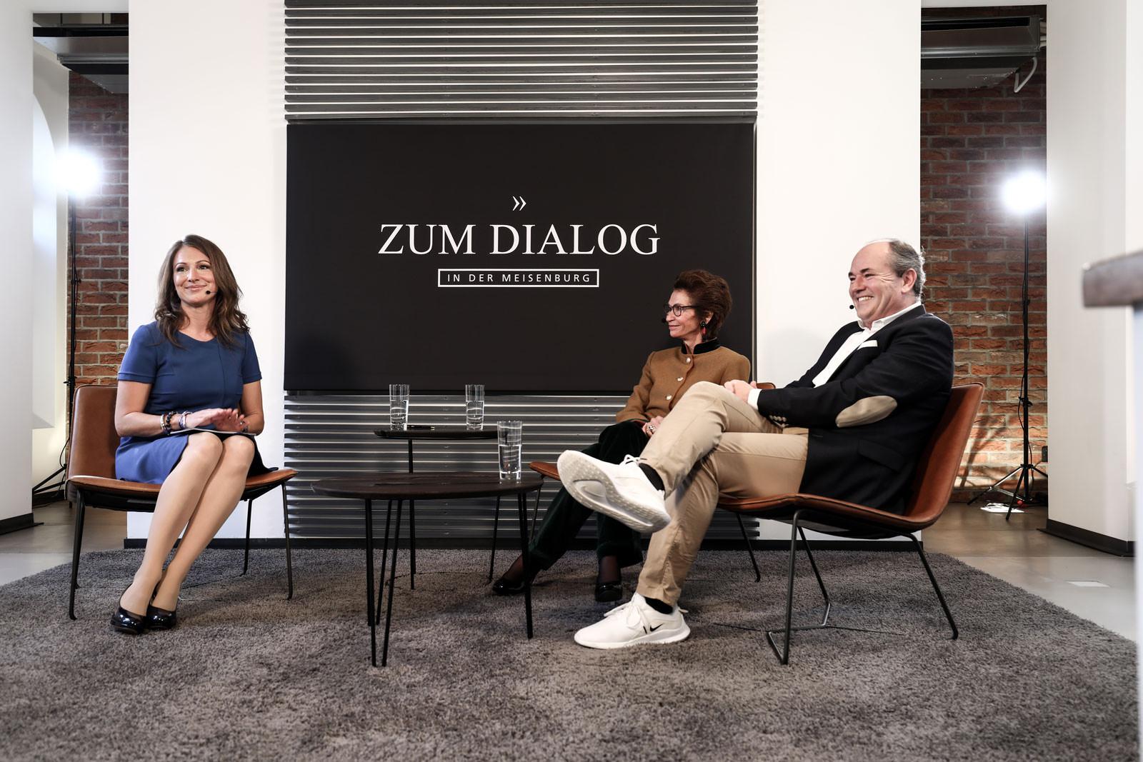 """DIALOG """"SOZIALES ENGAGEMENT"""" mit Jeannette Gräfin Beissel von Gymnich und Wolfram Kons"""