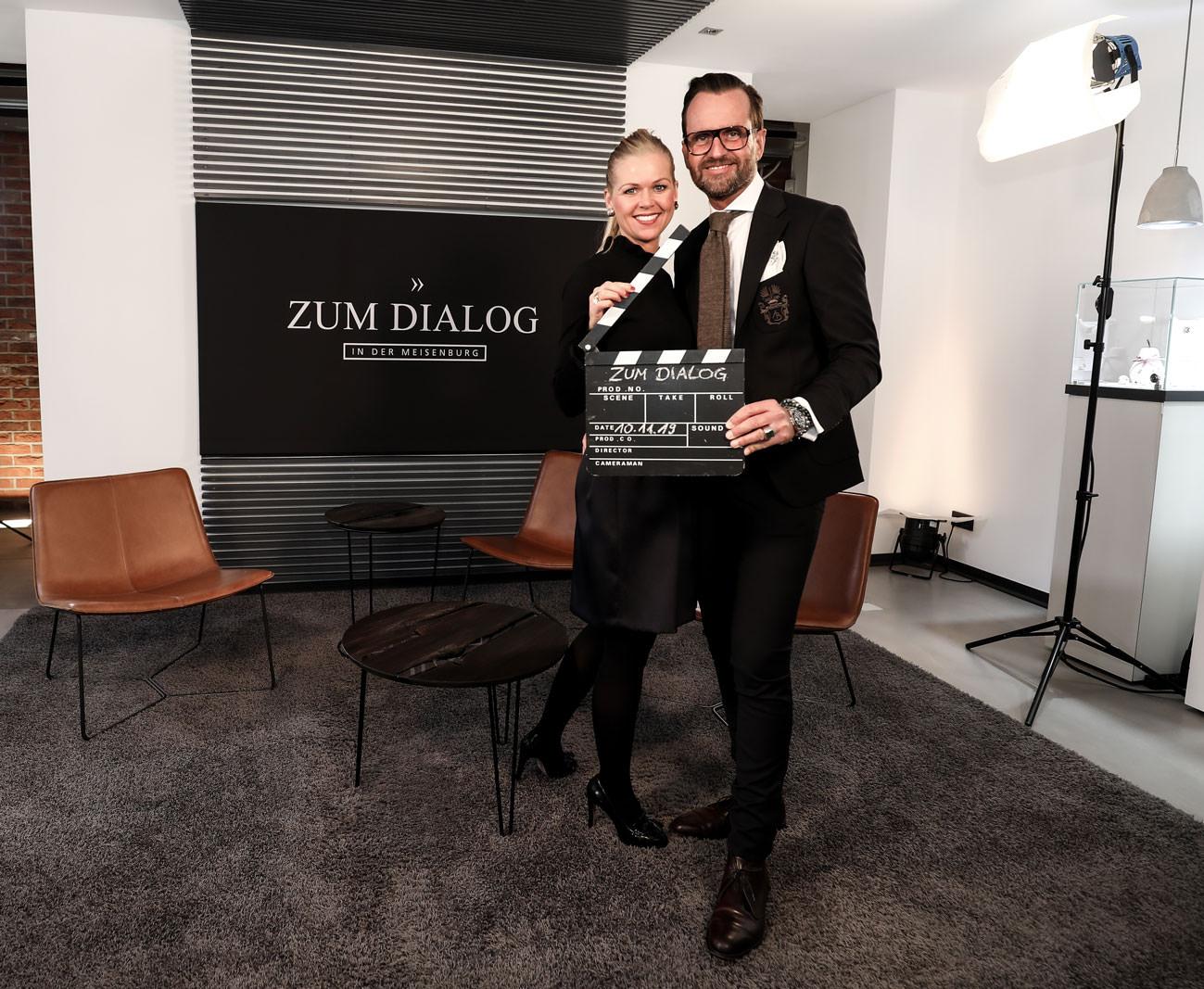Gastgeber Anna und Stephan Schneider