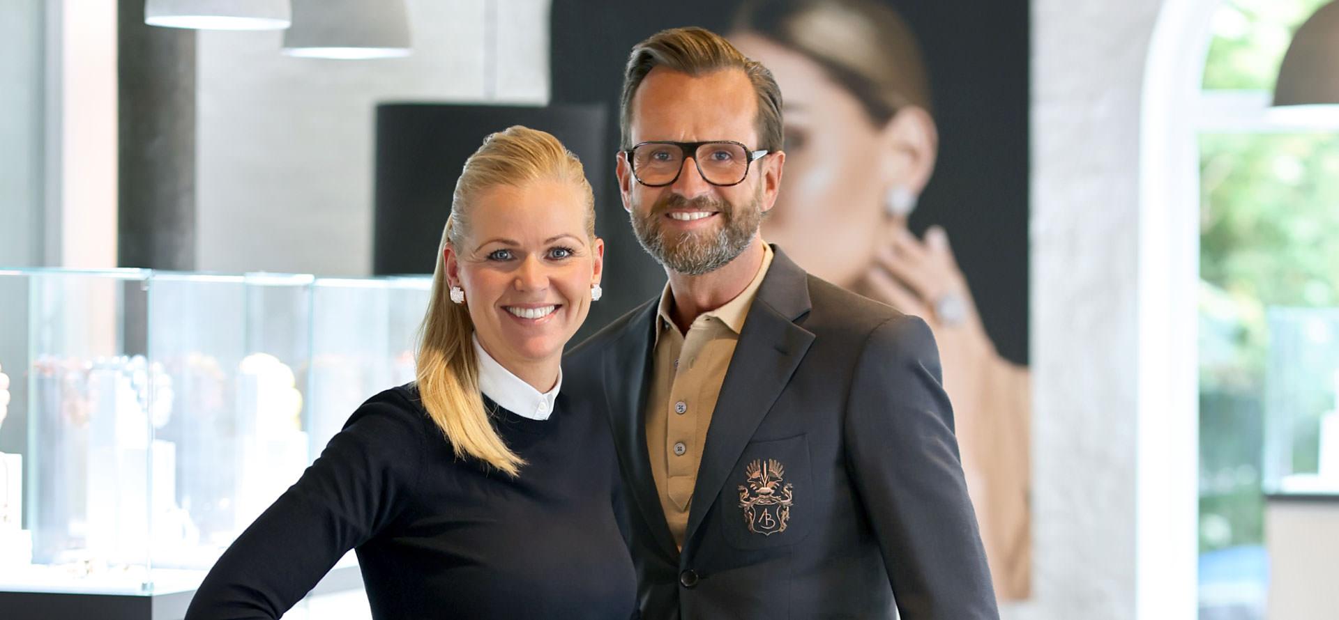 Das Inhaberpaar Anna und Stephan Schneider
